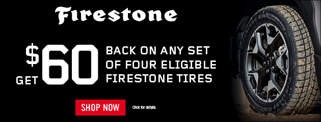 Firestone Tire Sale
