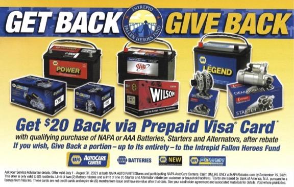 Get $20 Back