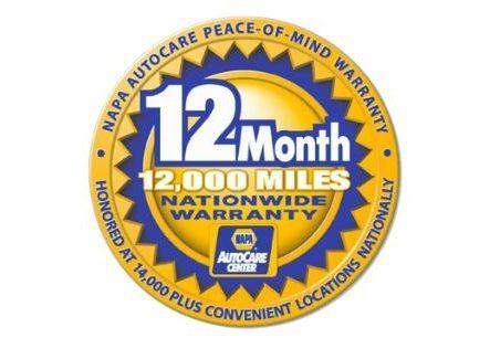 Peace of Mind Warranty Badge
